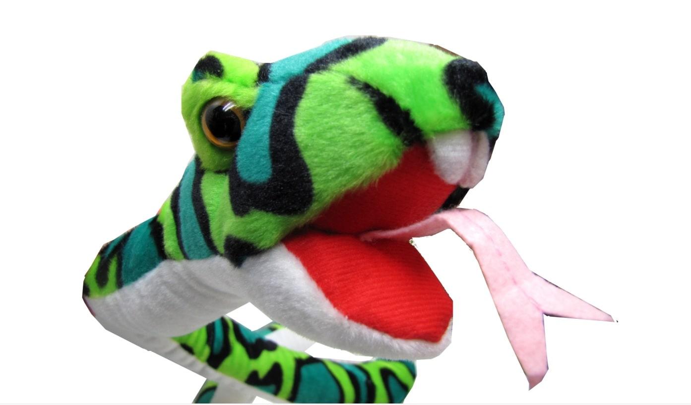 Beppe maskotka wąż przytulanka