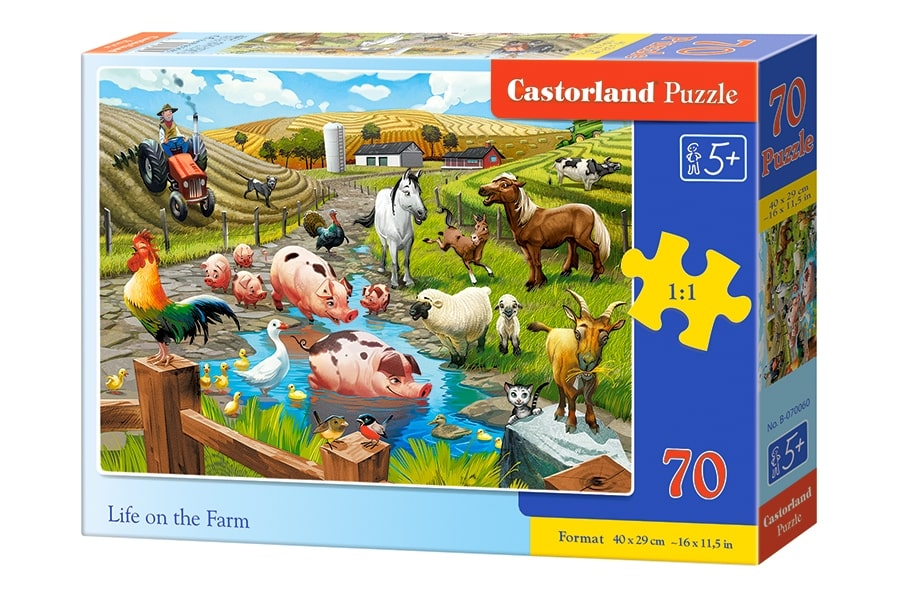 Puzzle dla 5 latka i 6 latka