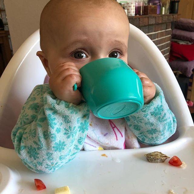 Kubek doidy cup skośny do nauki picia 3m+