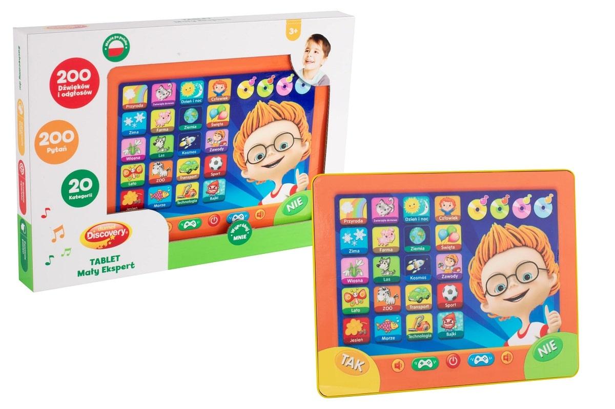 Interaktywny tablet mówiący dla dzieci Dumel
