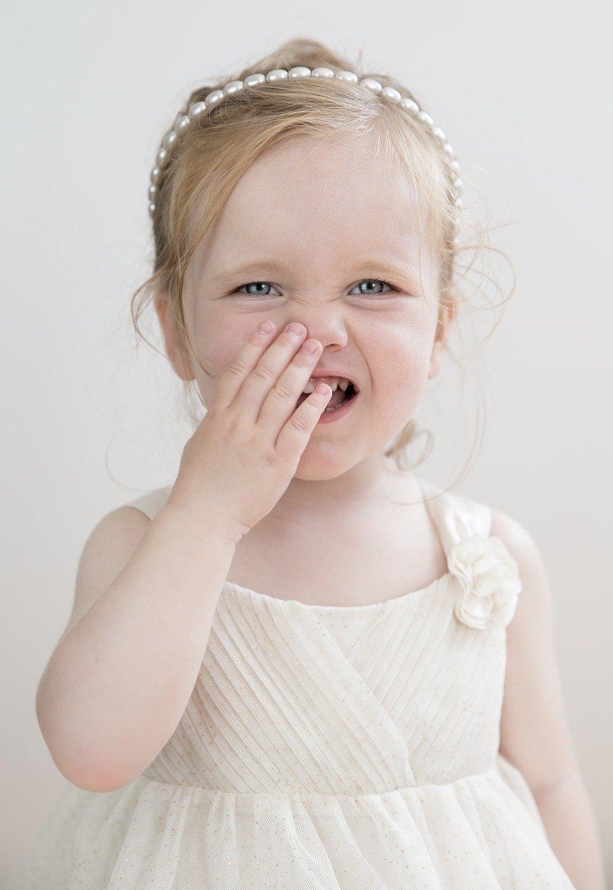 Dziecko często mruga oczami