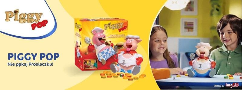 Zabawa dla dzieci Piggy Pop