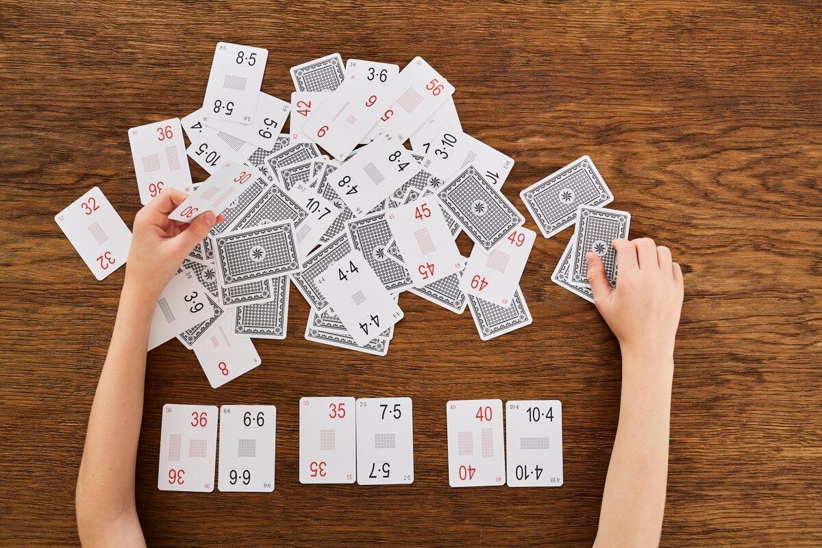 Karty grabowskiego tabliczka mnozenia