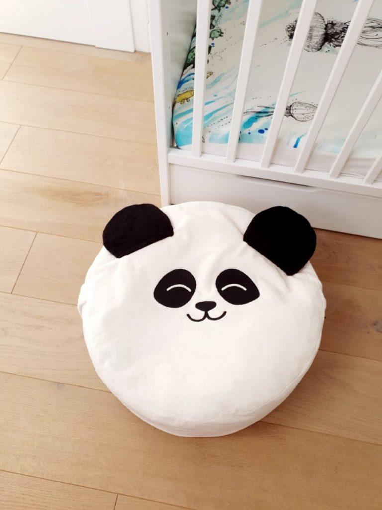 Kidspace mini pufa dla dziecka panda
