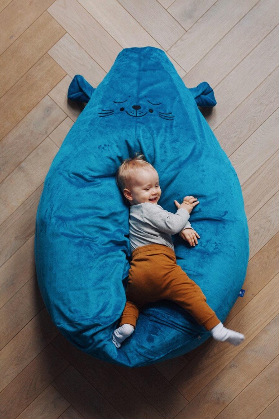 Puf dla dziecka fotel pufa Minky