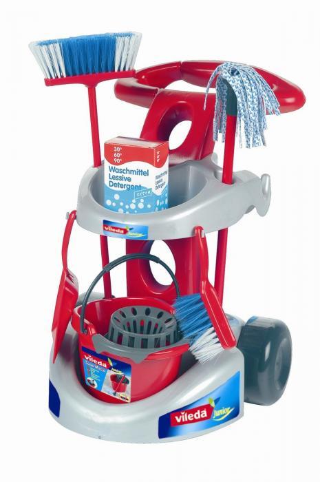 Wózek do sprzątania dla dzieci zabawka