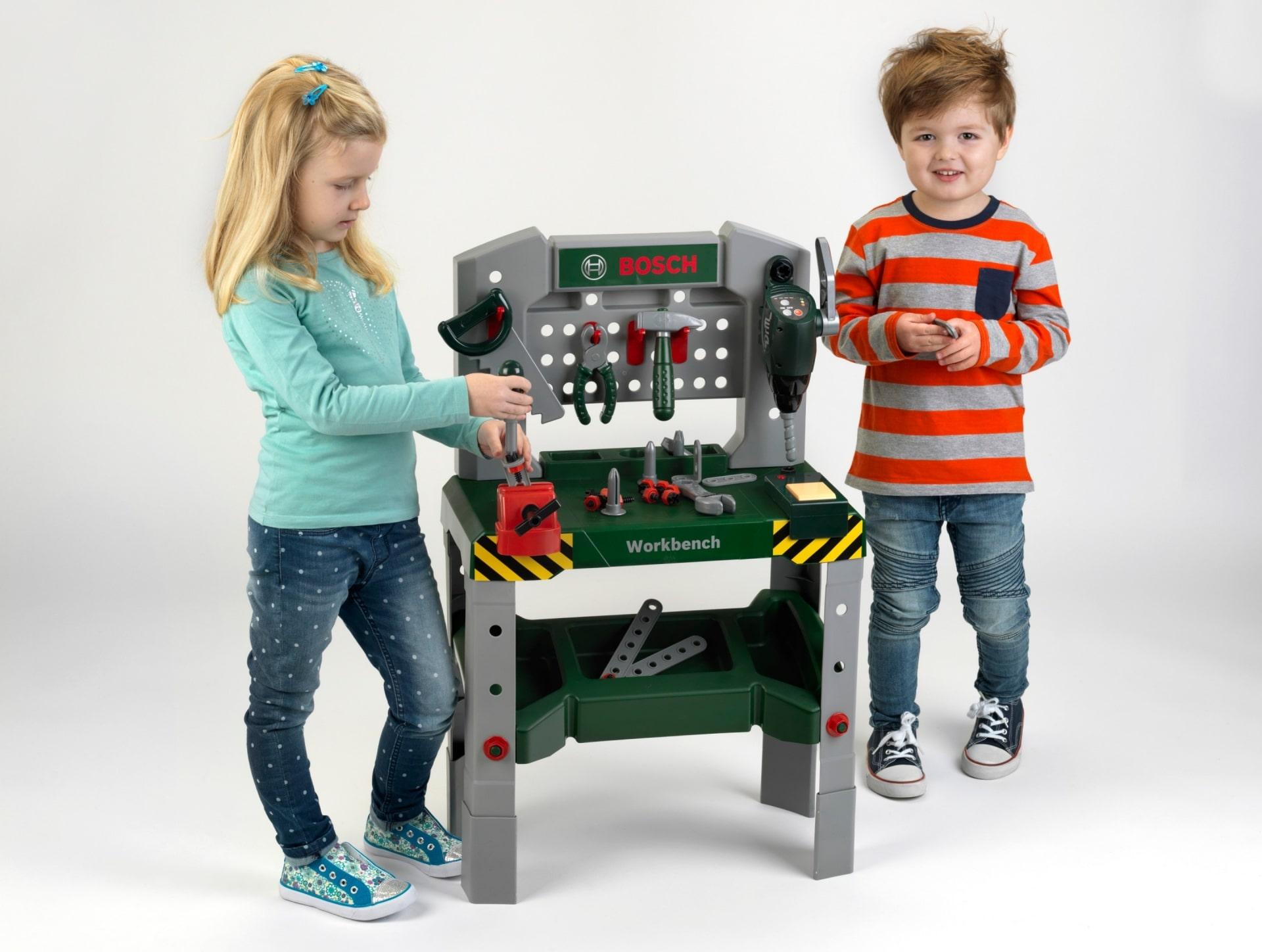 Warsztat dla dzieci Bosch z narzędziami