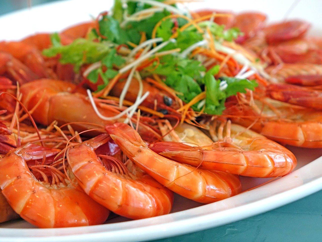 Krewetki, sushi i owoce morza w ciąży