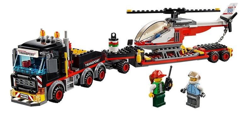 Lego city transporter ciężkich ładunków