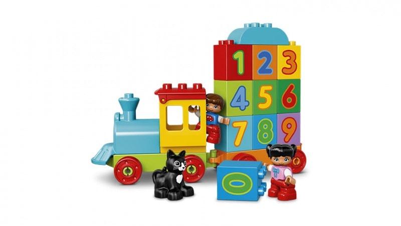 Klocki Lego Duplo pociąg