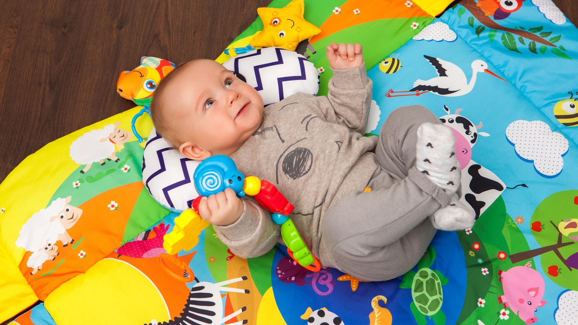 Bezpieczna mata dla niemowląt