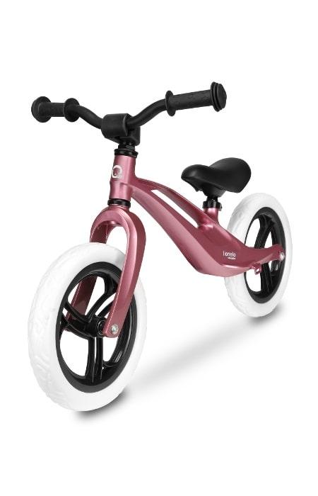 Lionelo rowerek biegowy magnezowy różowy