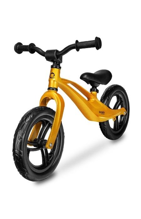 Lionelo rowerek biegowy magnezowy złoty
