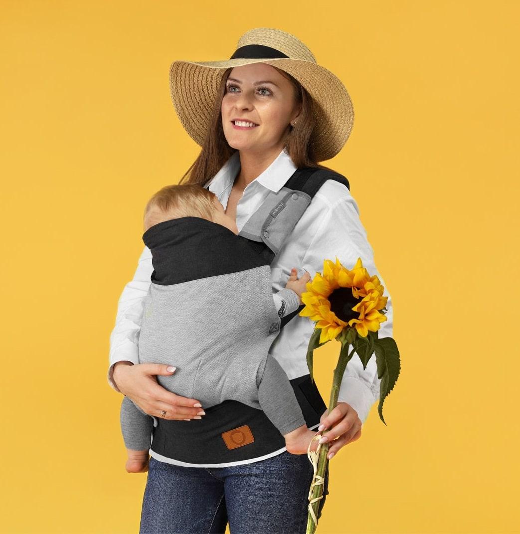 Nosidełko ergonomiczne Lionelo Margareet dla dziecka 20kg