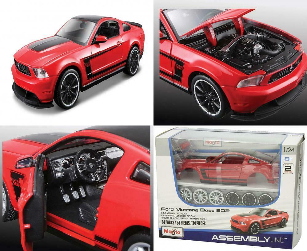 Samochód sportowy model do składania Maisto Ford Mustang Boss