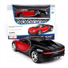Samochód sportowy model do składania Maisto Bugatti 1:24