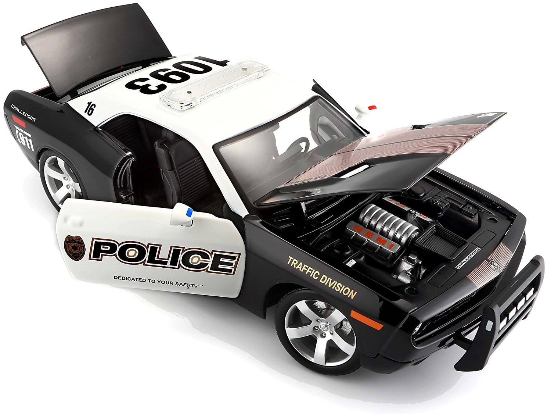 Samochód model Maisto policja Dodge Challenger Concept