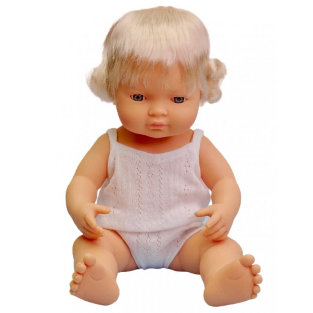 Miniland lalka europejka