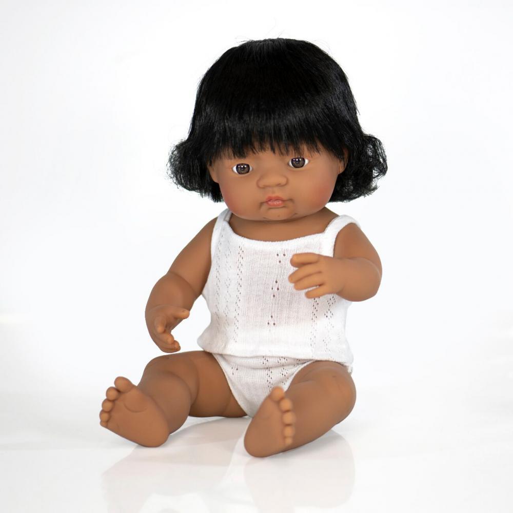 Lalka dziewczynka Hiszpanka 38cm Miniland Doll