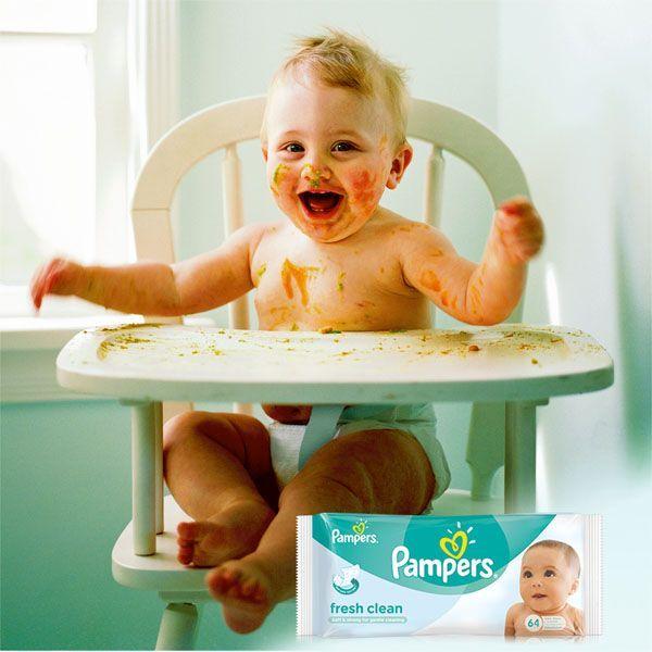 Chusteczki nawilżane Pampers Fresh clean