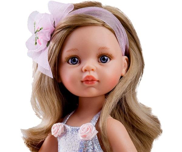 Pachnąca lalka Paola Reina winylowa