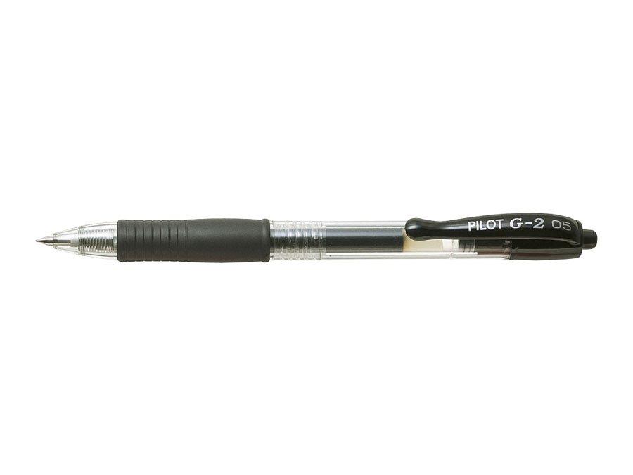 Długopis żelowy czarny Pilot G-2