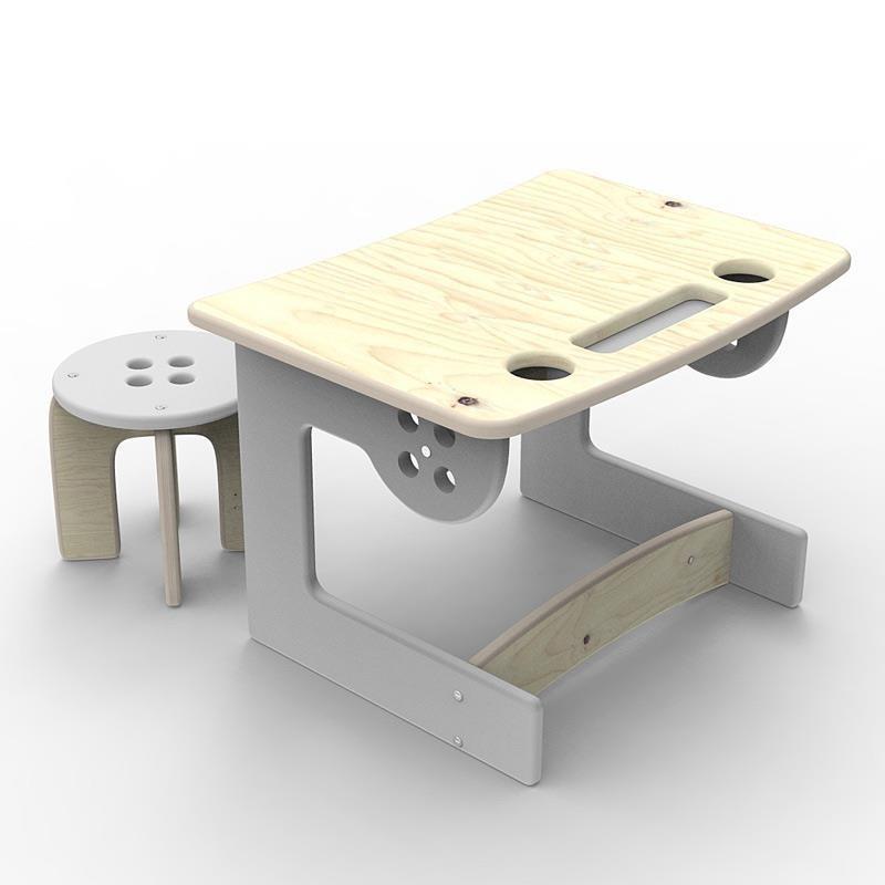 Biurko dla przedszkolaka z krzesełkiem