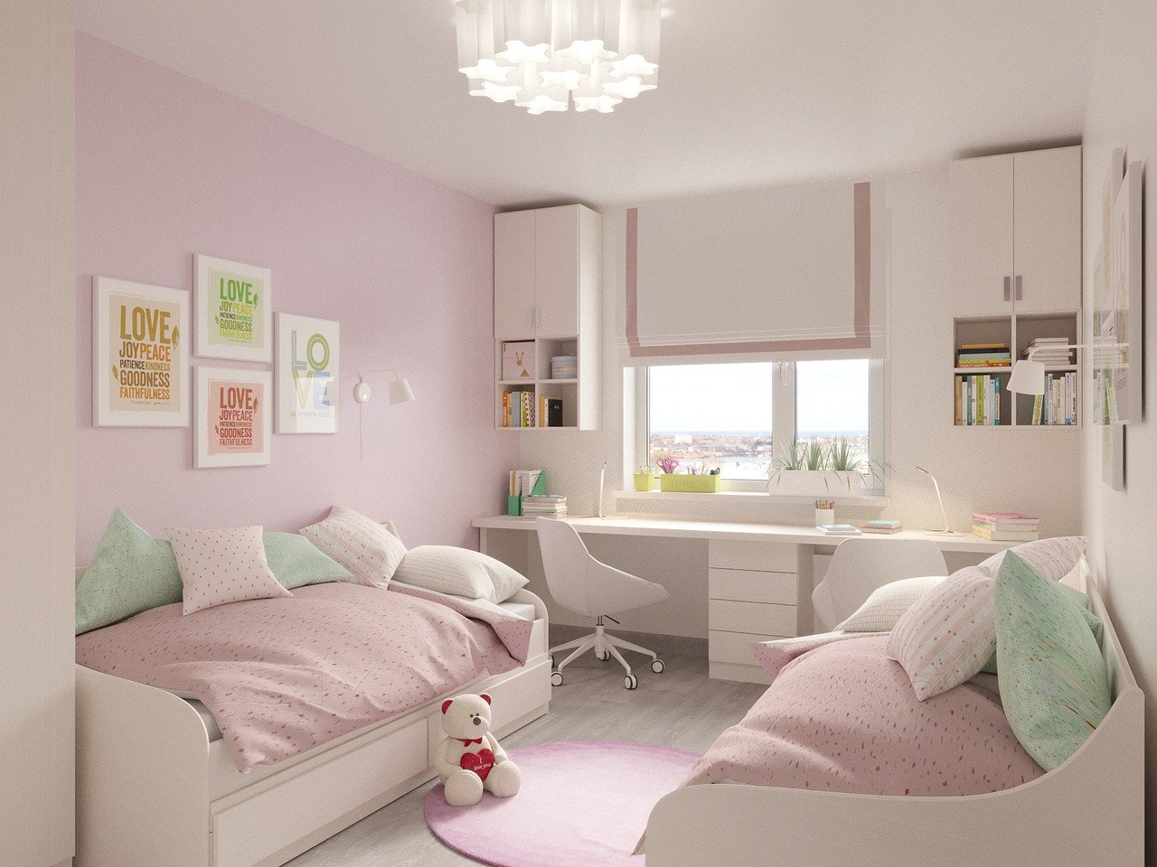 Pokój dla dziewczynek