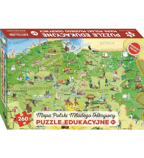 Puzzle Polska Polski dla dzieci