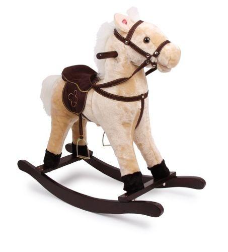 Koń na biegunach Zottel drewniany