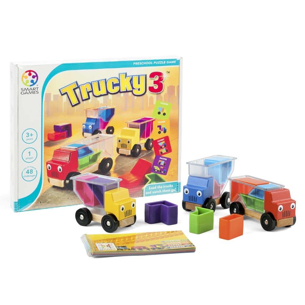 Drewniana łamigłówka dla dzieci - Smart Games 3 traki