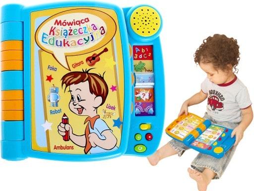 Książeczka interaktywna mówiąca Smily Play