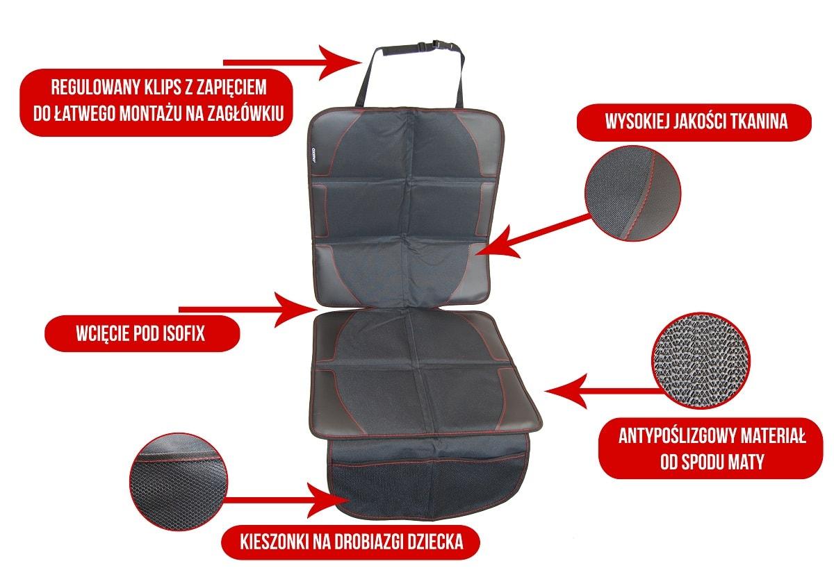 Mata ochronna pod fotelik samochodowy SPARCO