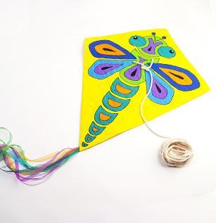 Markery Posca latawiec dla dzieci
