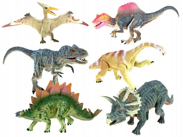 Zabawki dinozaury figurki zestaw